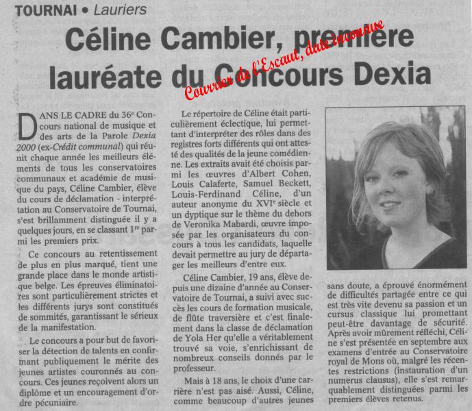 Céline Cambier Dexia